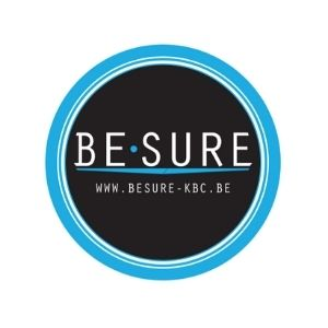 Logo be sure kbc